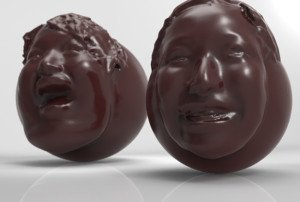 chocolate-face-truffles